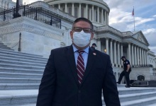 Rep. Salud Carbajal Blasts Trump for Inciting Violence at U.S. Capitol
