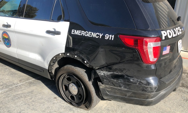 Santa Barbara Driver Hits Police Cars Amid Shooting Investigation