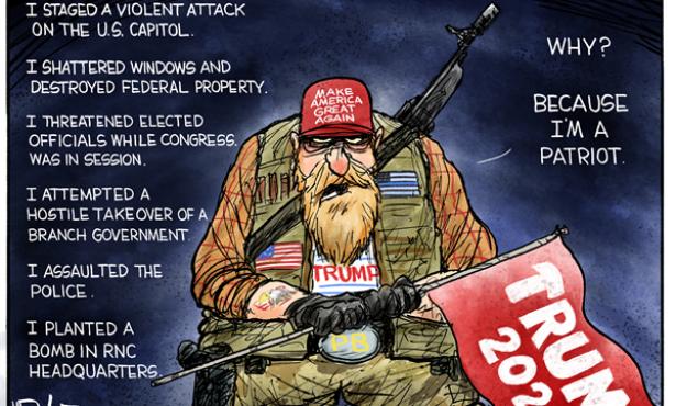 Trump Rants, a Mob Answers
