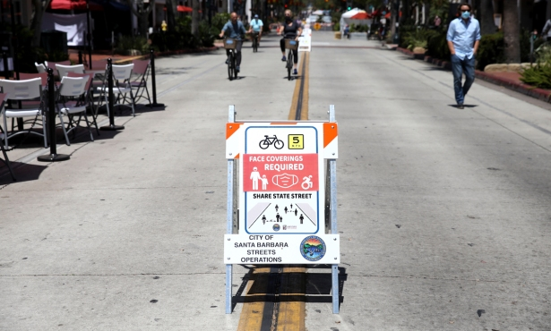 Santa Barbara Council Extends State Street Promenade One Year