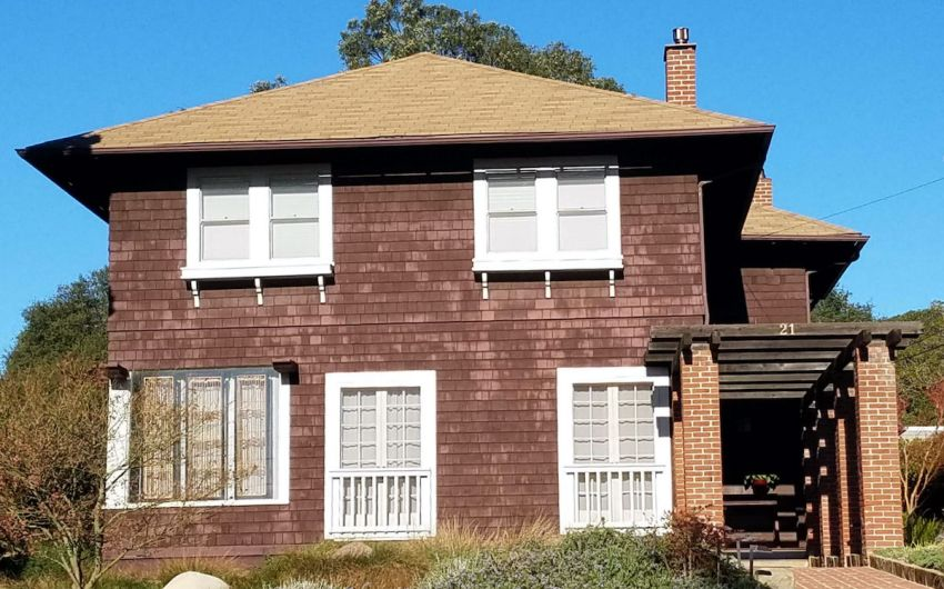 Prairie-Style Home on Mission Street