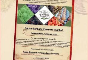 2021 Local Food Hero Santa Barbara Farmers Market