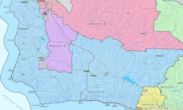 Board of Supervisors Balance of Power at Stake in Redistricting