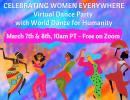 International Women's Day Virtual Dance Party