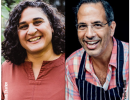 Virtual Event: Chefs in Conversation Samin Nosrat and Yotam Ottol