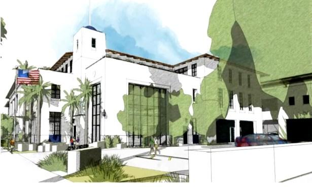 Santa Barbara Police Station Revised Proposal Gets Mixed Reviews