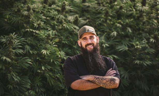 Khalid Al-Naser Tends to Raw Garden's Cannabis Kingdom