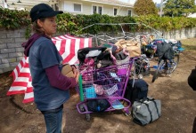 Homeless Sweeps Target Pershing Park and Dwight Murphy Field Camps