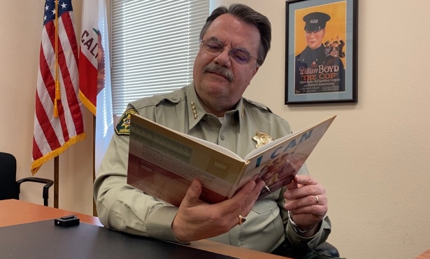 Sheriff's Office Celebrates National Reading Month