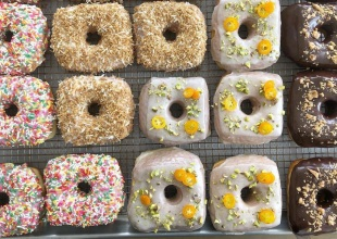 Gourmet Doughnuts Spotted at Bossie's Kitchen