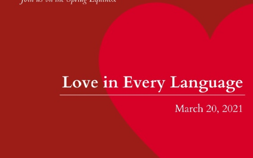 Trust for Historic Preservation to Host Virtual Love in Every Language Event