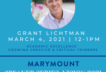 Spring Speaker Series At Marymount Brings Talented Thought Leaders to Community