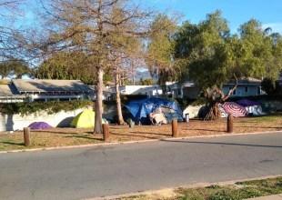 A Walk Through Santa Barbara's Tent Cities