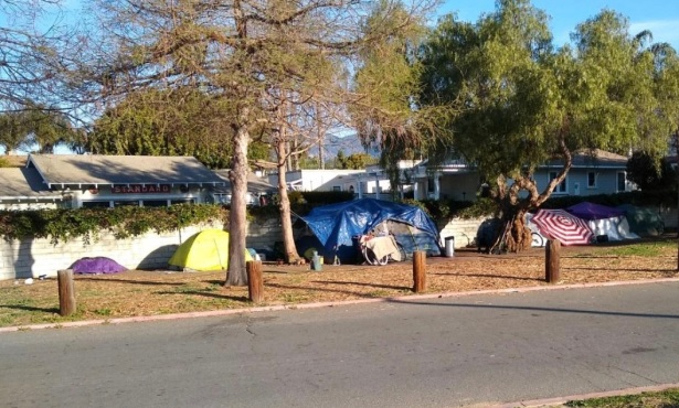A Walk Through Santa Barbara's Tent Cities