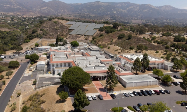 Santa Barbara County's Jail Diversion Glass 80 Percent Full