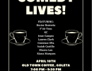 Second Saturdays STAND-UP COMEDY SHOWCASE OT Coffee