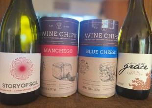 Pairing Wine Chips with Santa Barbara Bottles
