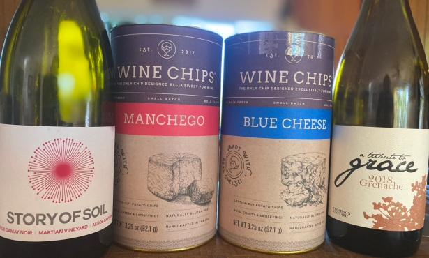 Pairing Wine Chips with Santa Barbara Bottles