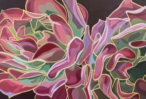 First-ever artist in Residence at Botanic Garden
