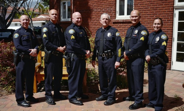 Santa Barbara Police Department Holds Promotional Ceremony