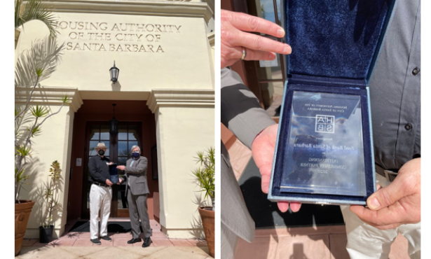Housing Authority honors Foodbank of Santa Barbara County as 2020 Outstanding Community Partner of the Year