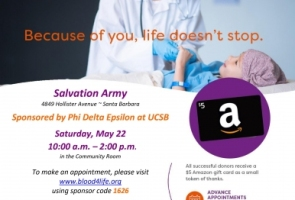 Salvation Army Community Blood Drive
