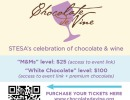 Virtual Event: 12th Annual Chocolate de Vine Fundraiser