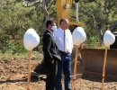 Big Dig Begins at Randall Road Debris Basin