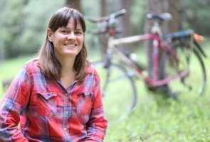 Author Speaks on BICYCLING WITH BUTTERFLIES via Zoom