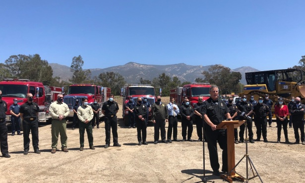 Santa Barbara County Fire Department Ramps Up for Early Fire Season