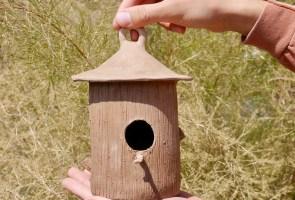 Father's Day Ceramic Birdhouse Workshop