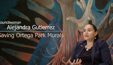 Saving Ortega Park Murals | Alejandra Gutierrez