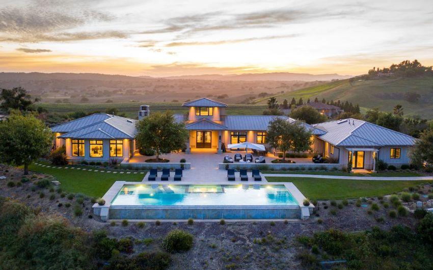 Stunning Santa Ynez Farmhouse