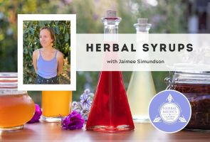 FREE ONLINE CLASS – Herbal Syrups