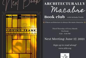 June: The Architecturally Macabre Book Club via Zoom