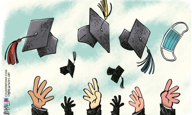 Congratulating the 2021 Graduate