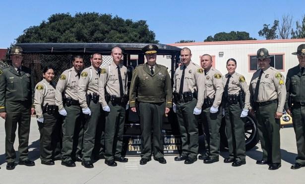 Sheriff's Office Swears-In Seven Custody Deputies
