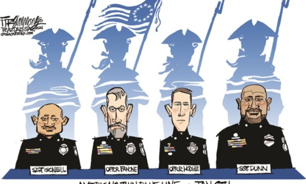 Officers Encountered Racism While Defending Against an Insurrection