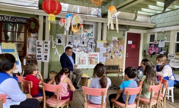 Congressman Carbajal Visits/Reads to Storyteller Children