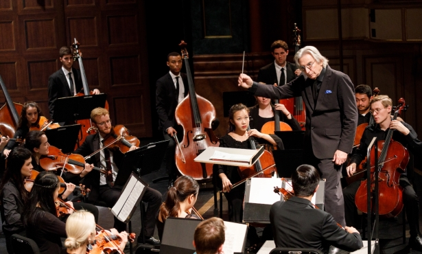 Michael Tilson Thomas Conducts the Music Academy Chamber Orchestra