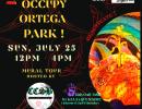 Free Mural Tour at Ortega Park