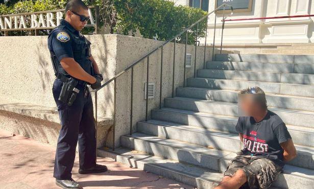 Santa Barbara Police Arrest Man for Brandishing Knife at Family on State Street