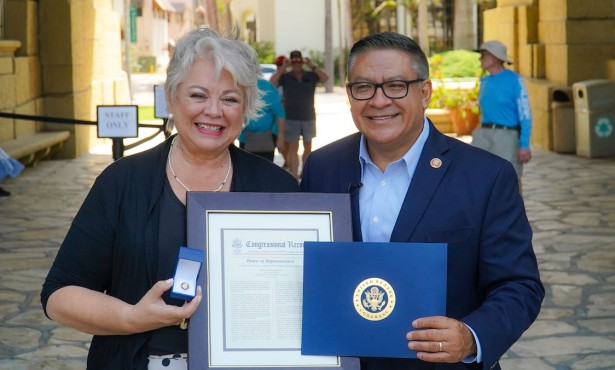 Silvia Uribe Named Woman of the Year by Rep. Salud Carbajal