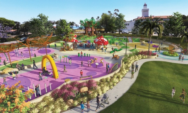 Dwight Murphy Plan Includes Universally Accessible Playground