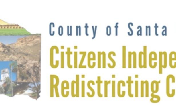 Anuncio de las Dos Próximas Reunionesla Comisión Independiente de Redistribución de Distritos de Ciudadanos del Condado de Santa Bárbara