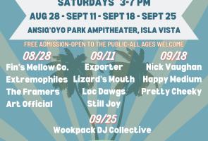 Isla Vista Summer Concert Concert Series