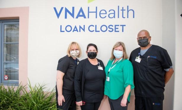 Borrowing Medical Basics from VNA Health's Loan Closet