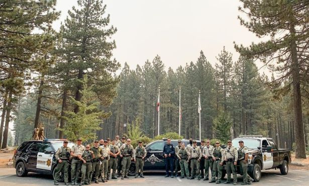 Santa Barbara County Officers Volunteer to Assist at Caldor Fire