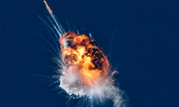 Rocket Launch Explodes in Firefly Aerospace's First Test Mission at Vandenberg