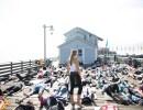 Yoga on Stearn's Wharf
